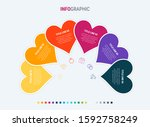 timeline infographic design...   Shutterstock .eps vector #1592758249