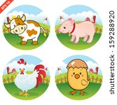 Farm Animal Clipart Collection...