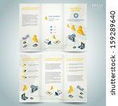 photography brochure design... | Shutterstock .eps vector #159289640