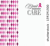 breast cancer awareness ribbon... | Shutterstock . vector #159291500