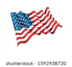 vector illustration  american... | Shutterstock .eps vector #1592938720
