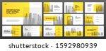 business presentation... | Shutterstock .eps vector #1592980939