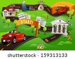 a vector illustration of... | Shutterstock .eps vector #159313133