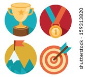 vector success concepts   bowl  ... | Shutterstock .eps vector #159313820