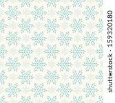 Vector Seamless Winter Retro...