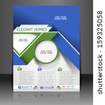 real estate agent flyer  ... | Shutterstock .eps vector #159325058