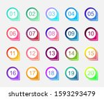 super set arrow bullet point... | Shutterstock .eps vector #1593293479