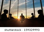 business people having on... | Shutterstock . vector #159329993