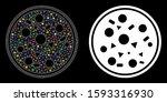 flare mesh entire pizza icon...   Shutterstock .eps vector #1593316930