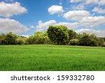 green landscape | Shutterstock . vector #159332780