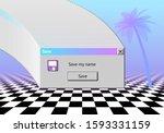 abstract vaporwave aesthetics... | Shutterstock .eps vector #1593331159