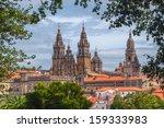 Great cathedral  of Santiago de Compostela