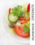 vegetable salad | Shutterstock . vector #159334670