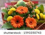 Festive Bouquet Of Orange...