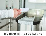 Using Electronic Card Key For...