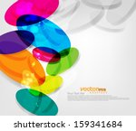 abstract vector background | Shutterstock .eps vector #159341684