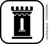 medieval castle tower vector... | Shutterstock .eps vector #159350450