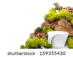 the composition of the rocks ... | Shutterstock . vector #159355430