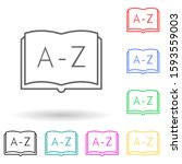 abc multi color style icon....
