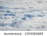 thick clouds in heaven ...   Shutterstock . vector #1593585889