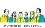 vector illustration character... | Shutterstock .eps vector #1593614470