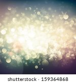 abstract winter background  eps ... | Shutterstock .eps vector #159364868