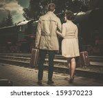 Beautiful Vintage Style Couple...