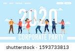 landing page for organization...   Shutterstock . vector #1593733813