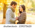 holidays  love  couple ... | Shutterstock . vector #159375620