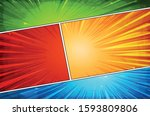 comic book action layout... | Shutterstock .eps vector #1593809806