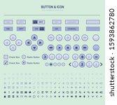 blue violet user interface kit...