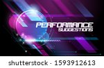 abstract vector lines over a... | Shutterstock .eps vector #1593912613