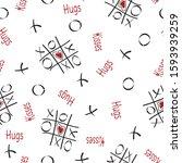 Vector Tic Tac Toe Hugs And...