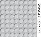 grey circles texture. seamless... | Shutterstock .eps vector #159394100