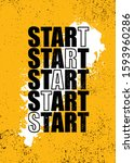 start now. inspiring typography ... | Shutterstock .eps vector #1593960286