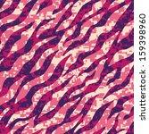 pink zebra stripe seamless... | Shutterstock .eps vector #159398960