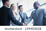 image of businessmen... | Shutterstock . vector #159403028
