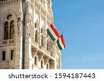 Hungarian Flags On The...