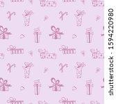 seamless vector pattern of hand ...   Shutterstock .eps vector #1594220980