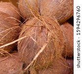 macro photo of tropical fruit...   Shutterstock . vector #1594296760