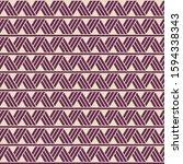 vector ethnic seamless pattern... | Shutterstock .eps vector #1594338343