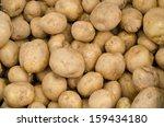 fresh potatoes | Shutterstock . vector #159434180
