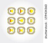 detailed button   | Shutterstock . vector #159434360