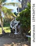 Small photo of Anchor Statue at Puerto Hermina, PR