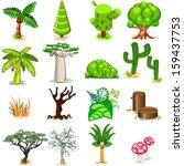 tree vector illustration... | Shutterstock .eps vector #159437753