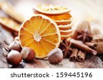 Dry Oranges With Walnut And...