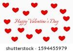 vector illustration on the... | Shutterstock .eps vector #1594455979