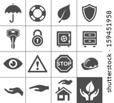 protection icons. simplus...