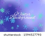 winter texture with lovely... | Shutterstock .eps vector #1594527793