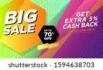 special big sale 70  discount...   Shutterstock .eps vector #1594638703